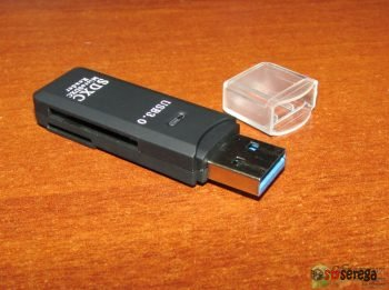 Карта памяти Mixza 64GB, картридер 3.0 и переходник для SSD с GearBest