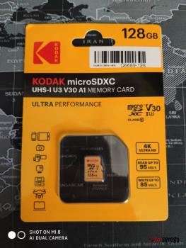Карта памяти Kodak V30 с Bringly