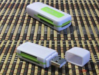 USB хаб с выключателем и кардридер. Aliexpress