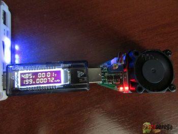 USB нагрузка и USB тестер с Aliexpress