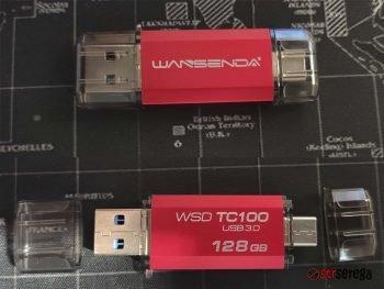 Флешки Lexar и Wansenda WSD TC100 с Aliexpress